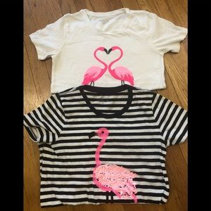 Two J Crew Colletion  Tees